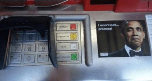 NSA ATM obama pin prism banking - 7683590912