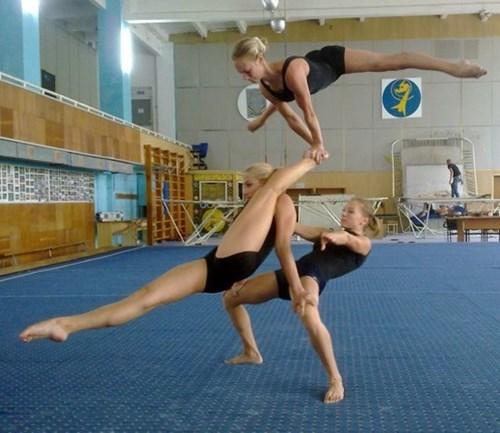 gymnastics balance BAMF funny - 7683683072