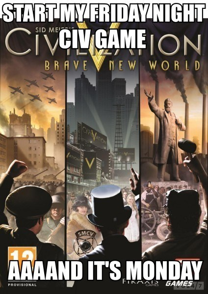 time killer,pcs,civilization v,video games