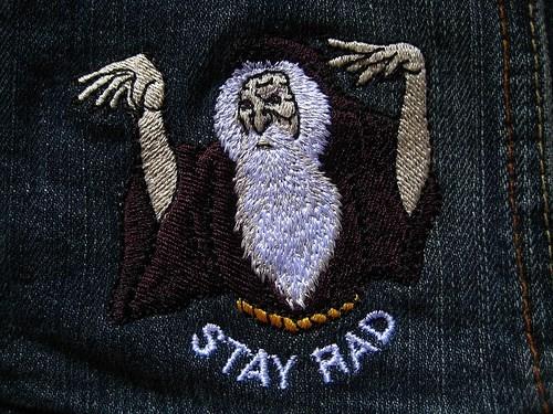 patch design wizard nerdgasm funny rad - 7683711744
