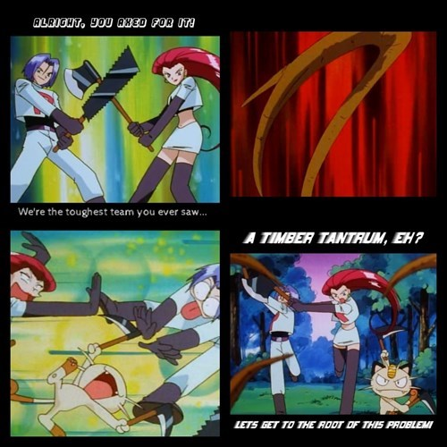 Team Rocket anime puns - 7683785472