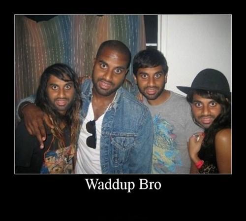 bro,photoshop,aziz ansari,funny