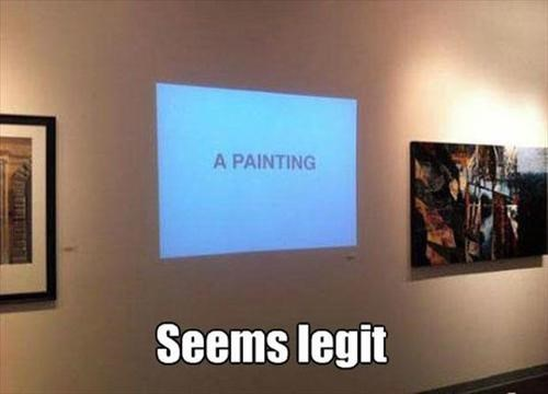 art,seems legit