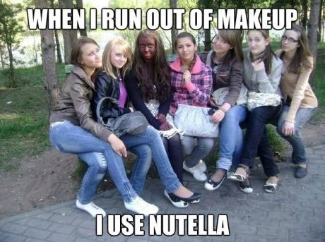 nutella,girls