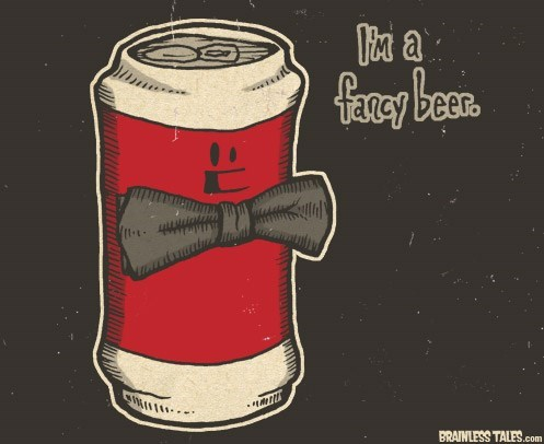 beer fancy cute funny - 7684045056