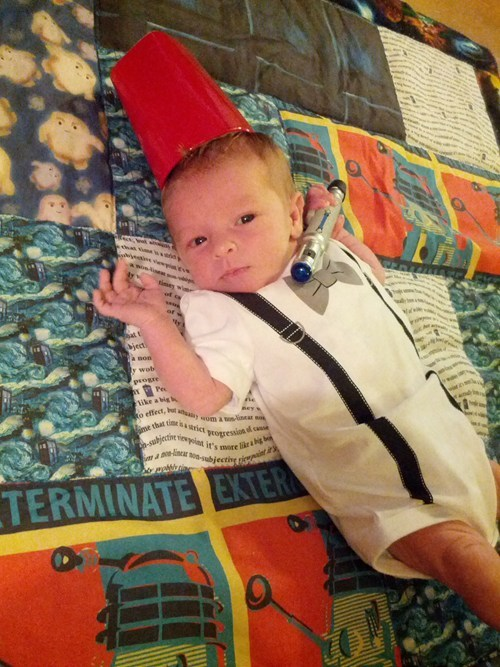 Babies cosplay kids cute doctor who - 7684106240