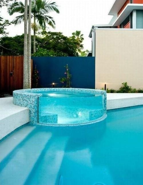 relaxing summer design pool - 7684147200