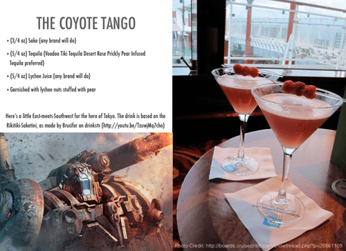 tango coyote pacific rim funny cocktail
