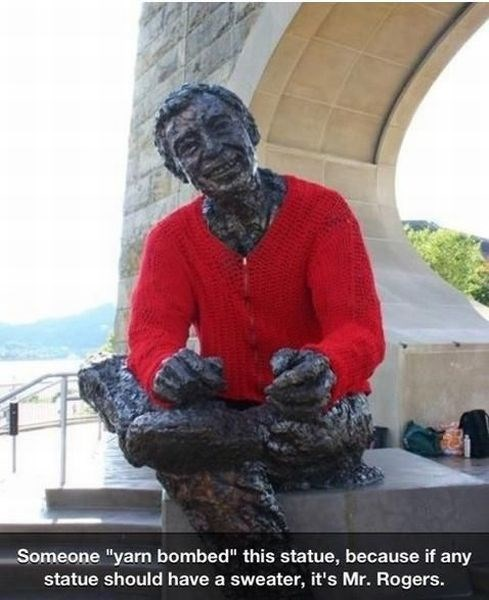 mr rogers sweater hacked irl funny g rated win - 7684154368