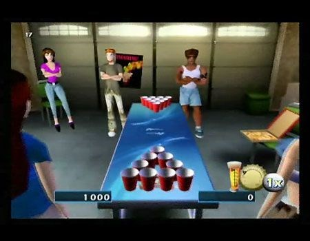 wtf beer pong video games funny drinking games