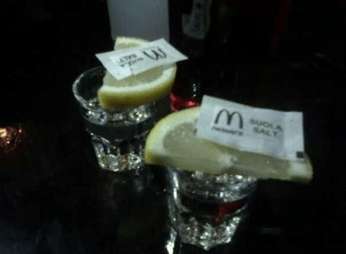 McDonald's,tequila,classy,funny