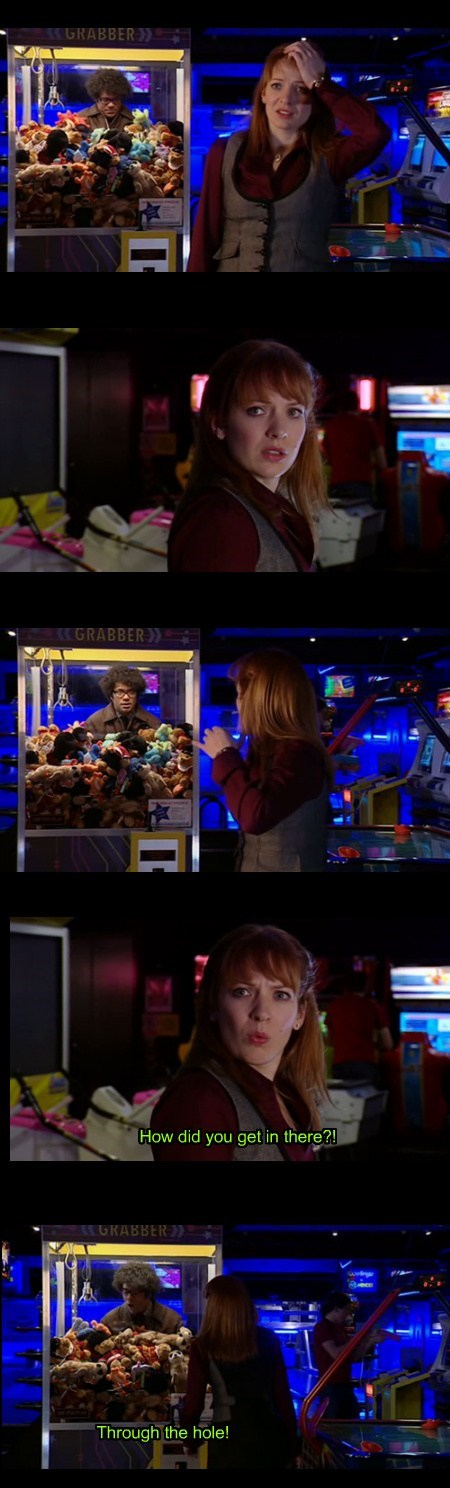 machines,claw game,the IT crowd,funny