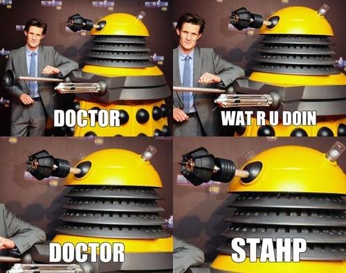 daleks,Matt Smith,11th Doctor,doctor who