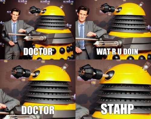 daleks Matt Smith 11th Doctor doctor who - 7685009920