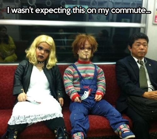 horror commute cosplay Chucky