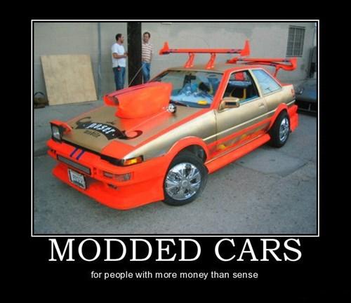 sense,mods,cars,idiots,funny
