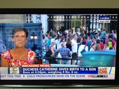 royal baby cnn news ticker - 7685855488