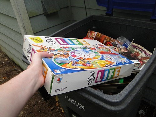 trash the game of life puns funny - 7685862400