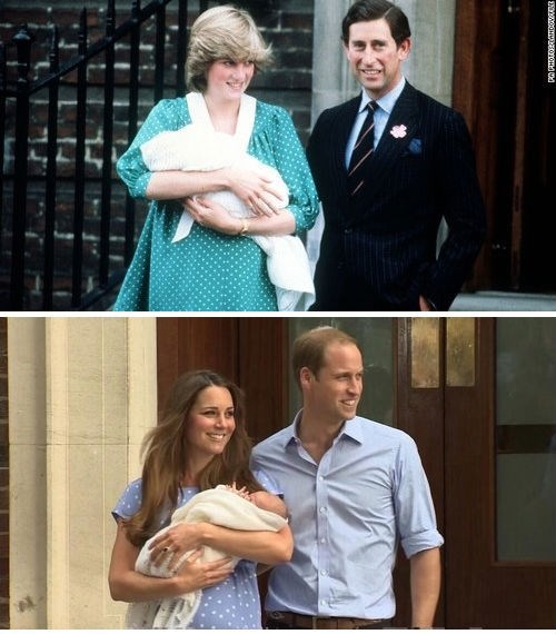 royal baby princess di kate middleton prince william - 7685885184