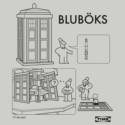 tardis,ikea,doctor who