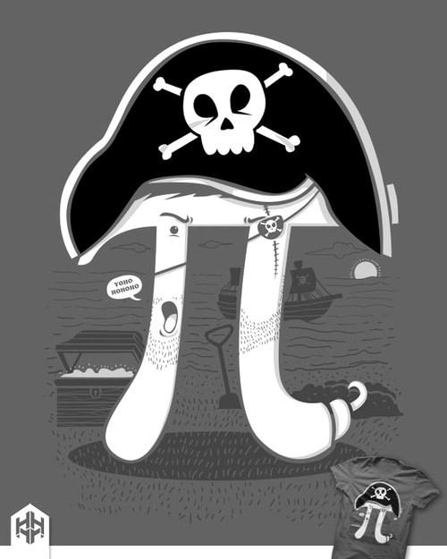 pi Pirate math funny - 7686053120