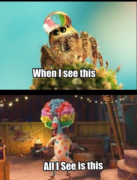 spiders water critters cute funny - 7686060288