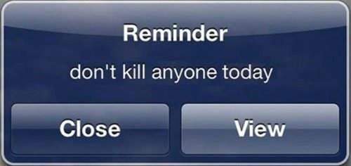 iPhones reminders funny g rated AutocoWrecks