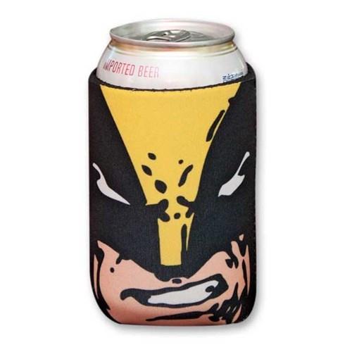 beer koozie wolverine funny - 7686177536