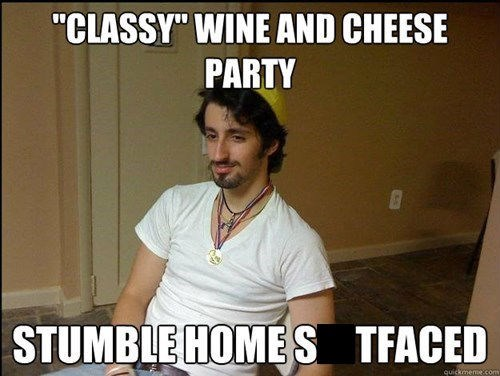 cheese,wine,Party,drunks,funny