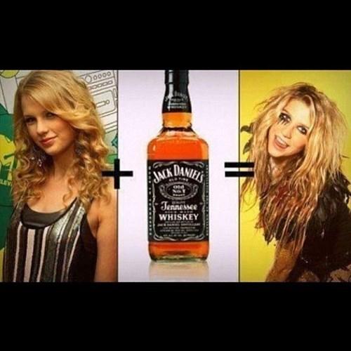 taylor swift keha whiskey funny - 7686310400