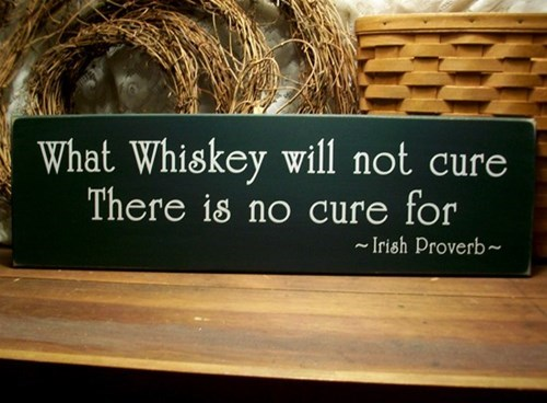 sign whiskey cure science funny - 7686311168