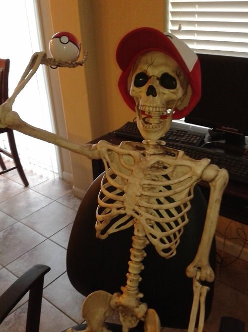 ash Pokémon IRL skeletons - 7686385664