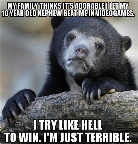 Memes Confession Bear embarrassing - 7686394880
