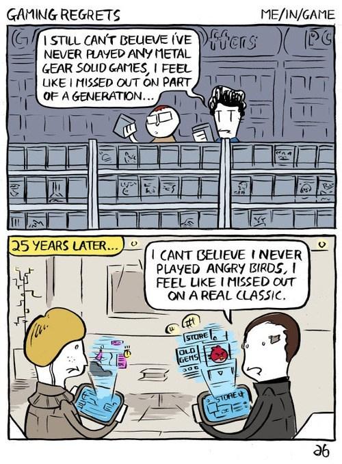 regrets comics gamers video games - 7686485504