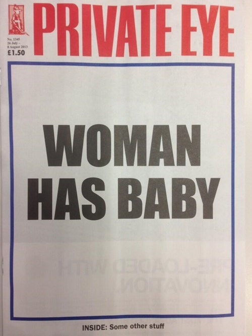news royal baby headline funny g rated win