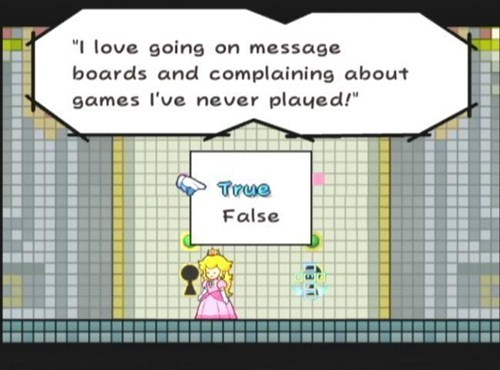 the internets super paper mario nintendo message boards - 7687008256