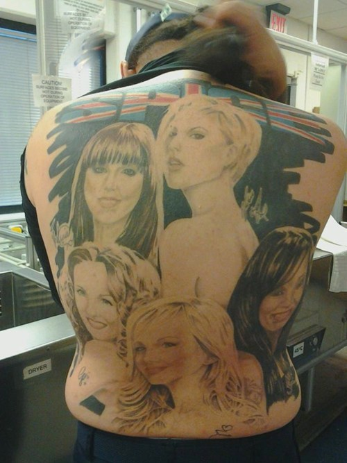 spice girls,tattoos,funny,g rated,Ugliest Tattoos