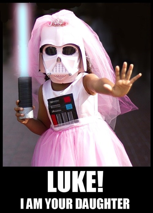 cosplay star wars kids cute darth vader - 7687731456