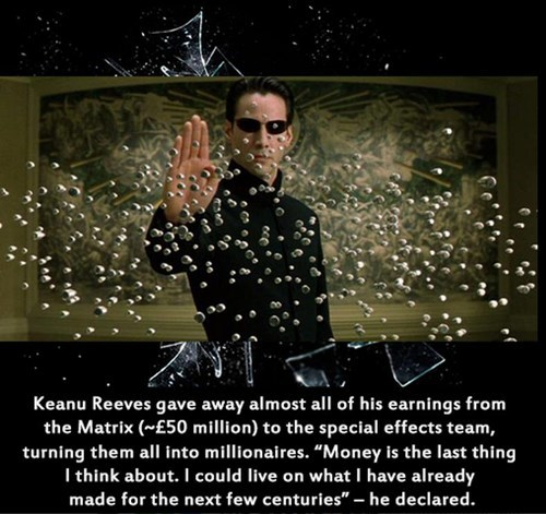 keanu reeves matrix good guy neo - 7688173312