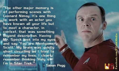 scotty Simon Pegg Star Trek - 7688217856