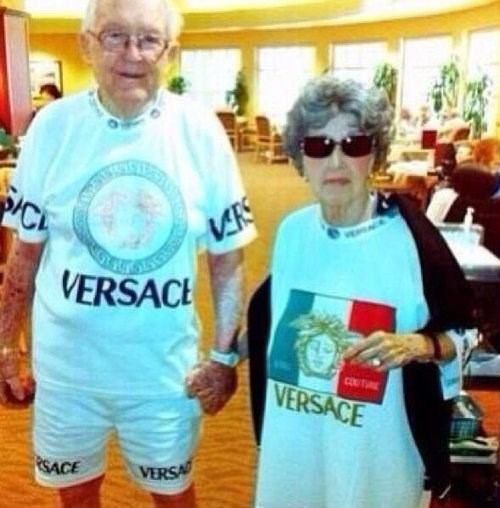 adorable versace senior matching - 7688273408