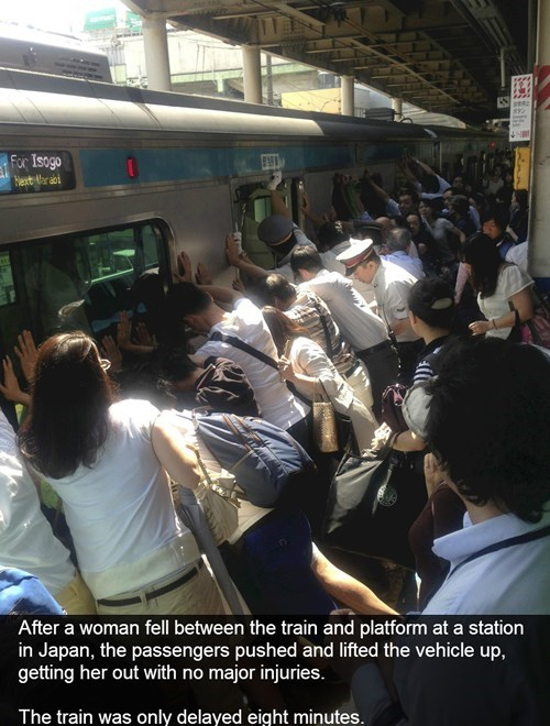 random act of kindness news restoring faith in humanity week BAMF trains public transit oh Japan g rated win - 7688473856