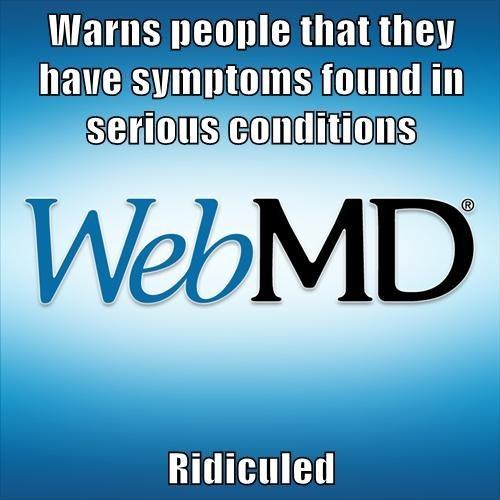 webmd,symptoms