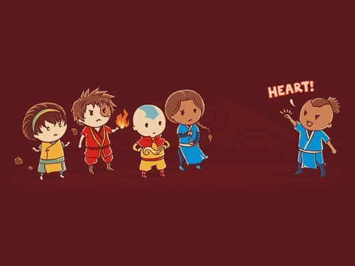 crossover Fan Art Avatar the Last Airbender captain planet - 7688748288