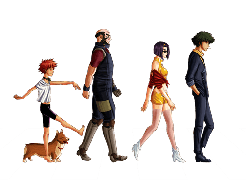 anime Fan Art cowboy bebop - 7688790016