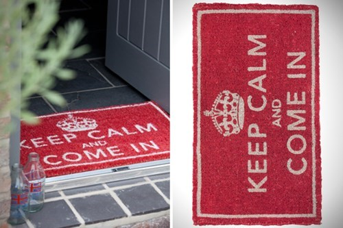 design doormat funny keep calm - 7688829952