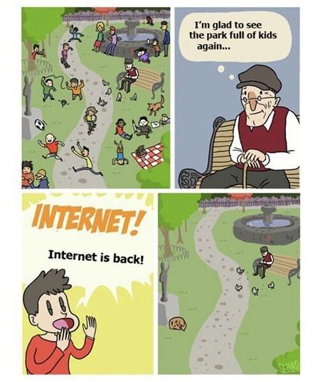 parks kids sad but true the internet funny - 7688879360