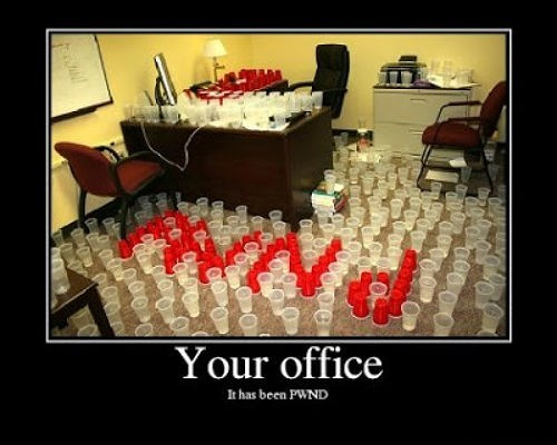 Office PWND prank funny - 7688892160