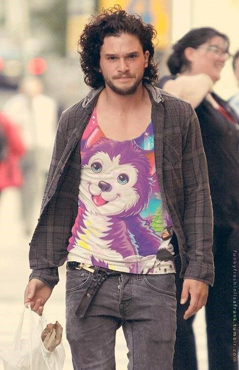 Game of Thrones shopped lisa frank - 7688898560