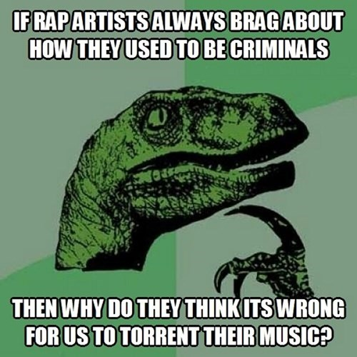 Music rappers philosoraptor - 7688909824